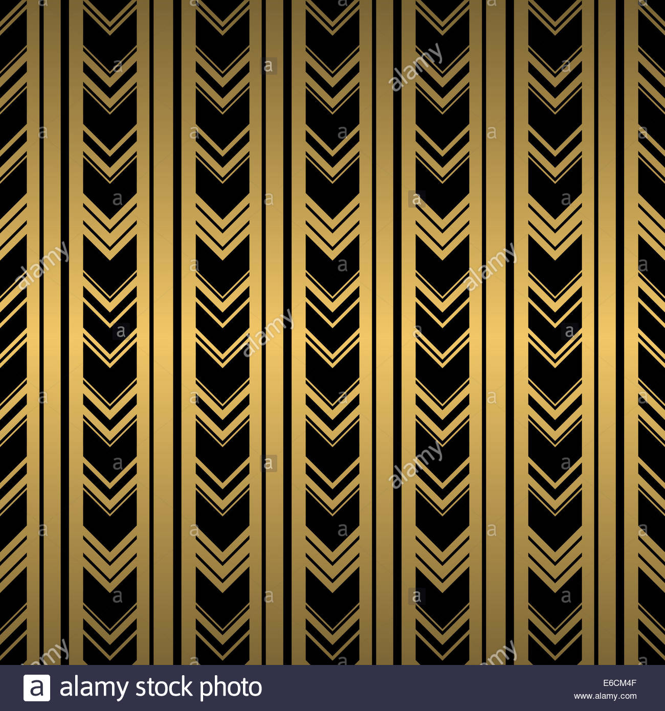 Black And Gold Seamless Background Repeat Patterned Wallpaper Design