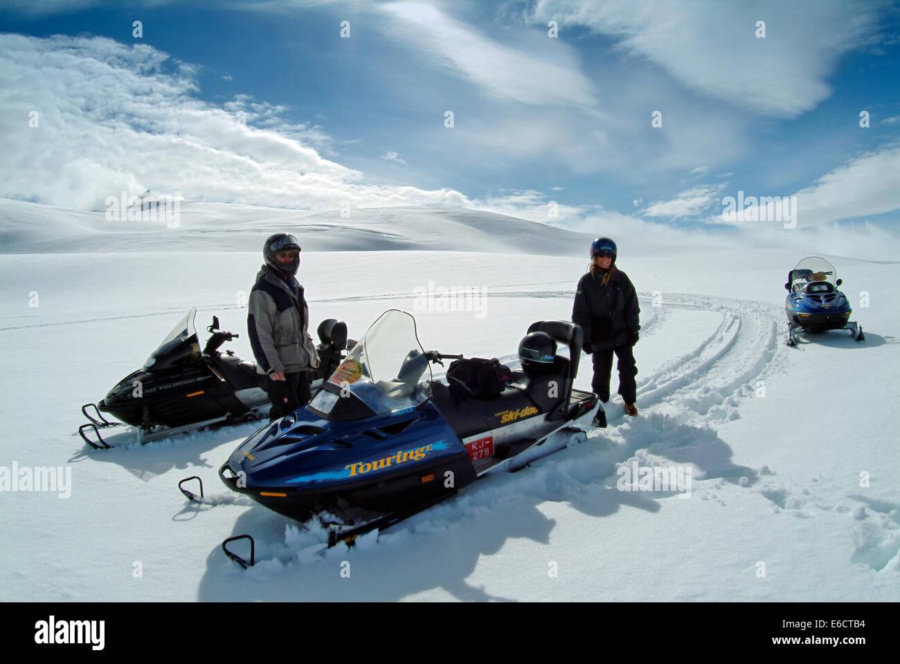 Vatnajokull ice cap, Iceland. - Stock Image