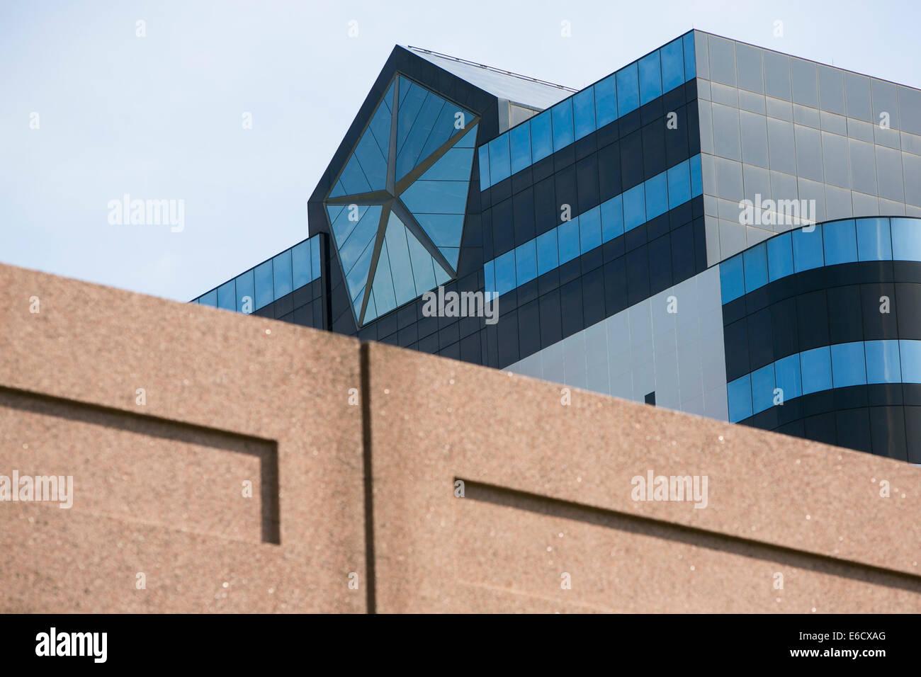The headquarters of Chrysler Group LLC in Auburn Hills, Michigan. Stock Photo