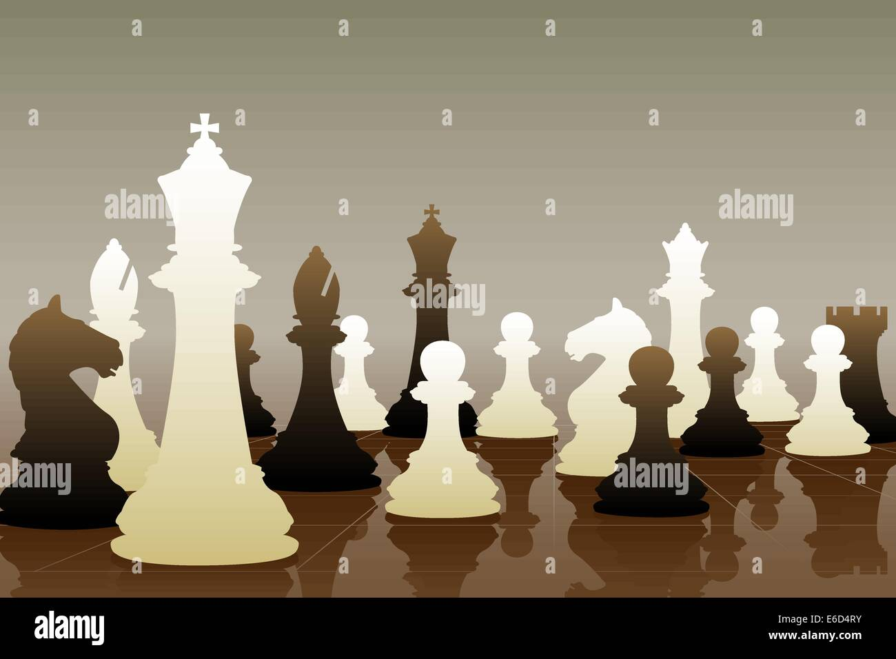 Game Pieces Stock Vector Images Alamy