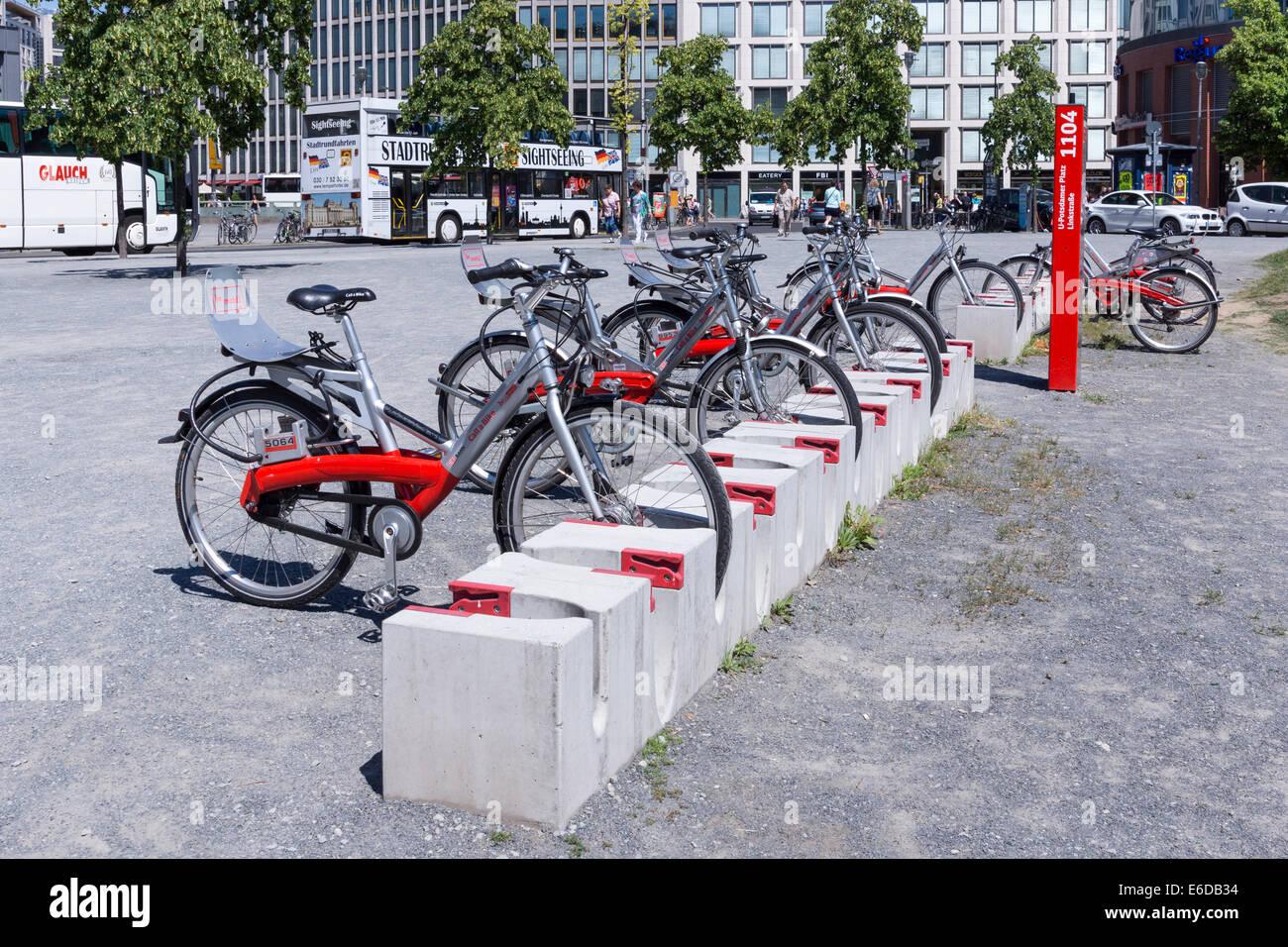 Bike Rental Berlin Stock Photos Bike Rental Berlin Stock Images