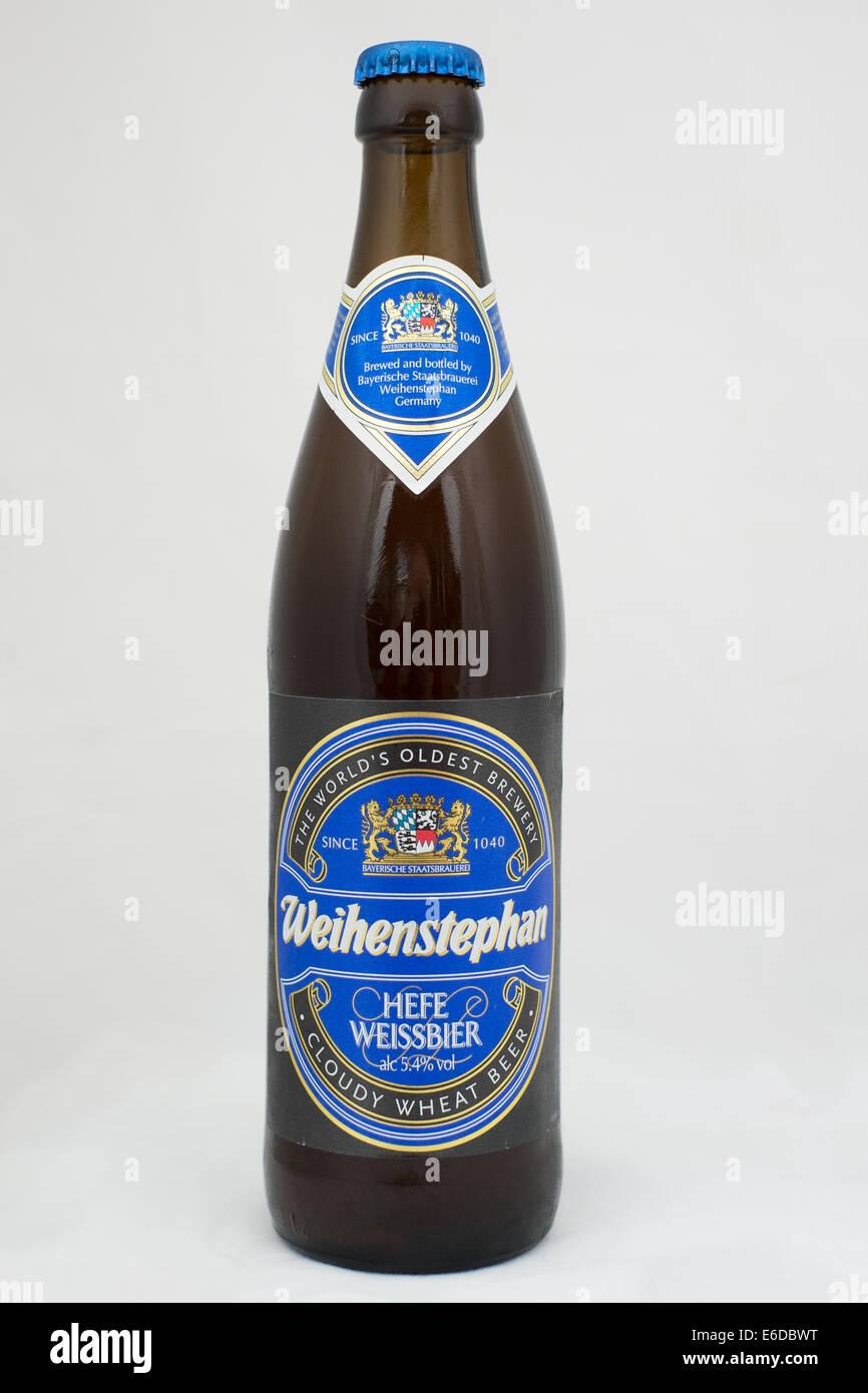 Weihenstephaner Hefe Weissbier Stock Photo