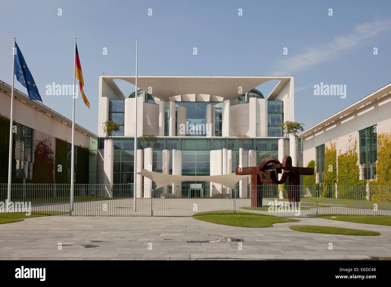 German Chancellery Bundeskanzleramt in Berlin, Germany, Europe Stock Photo
