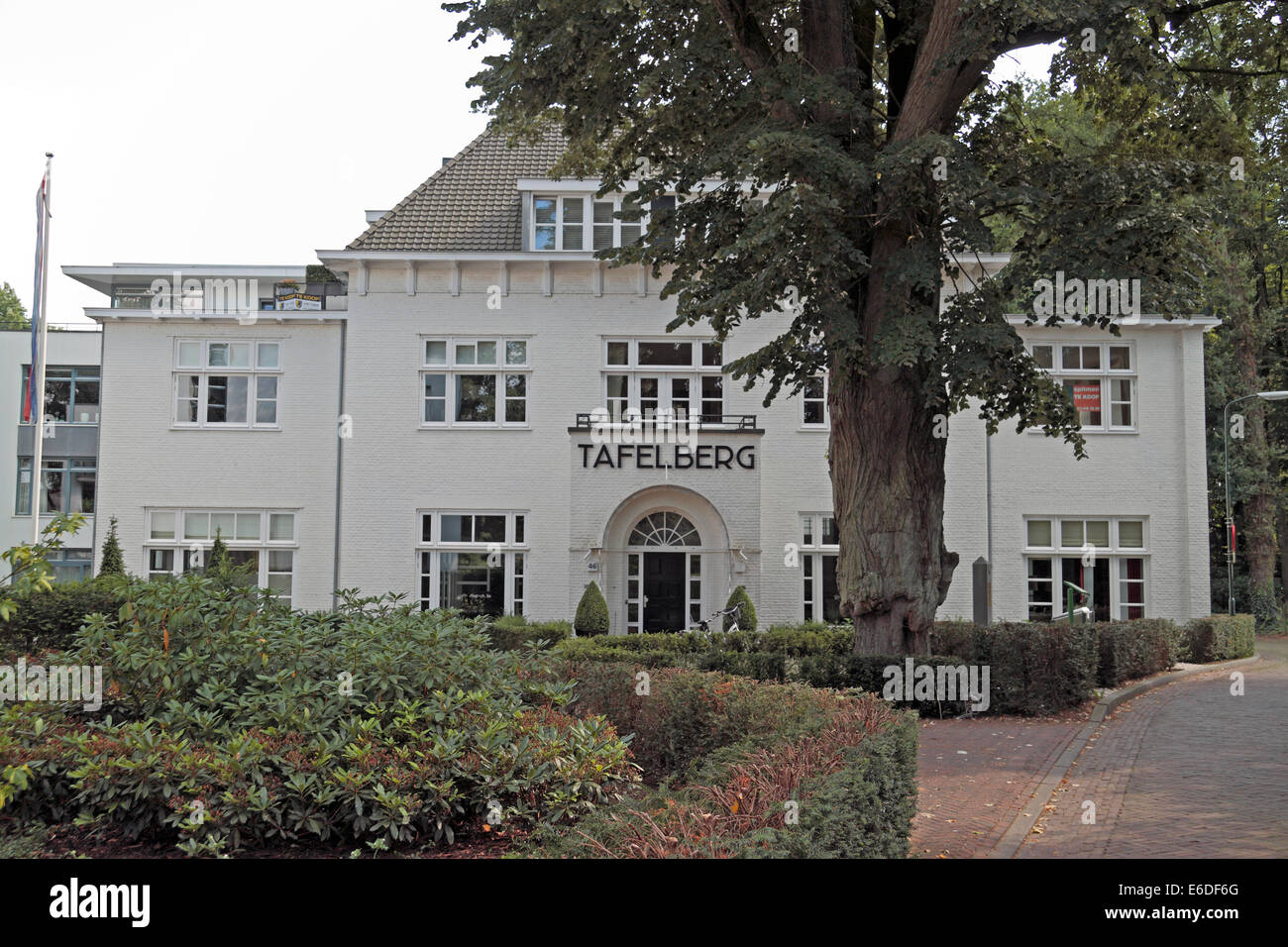 The Tafelberg, HQ for German commander Field-Marshall Walther Model in Oosterbeek, Arnhem, Gelderland, Netherlands. - Stock Image