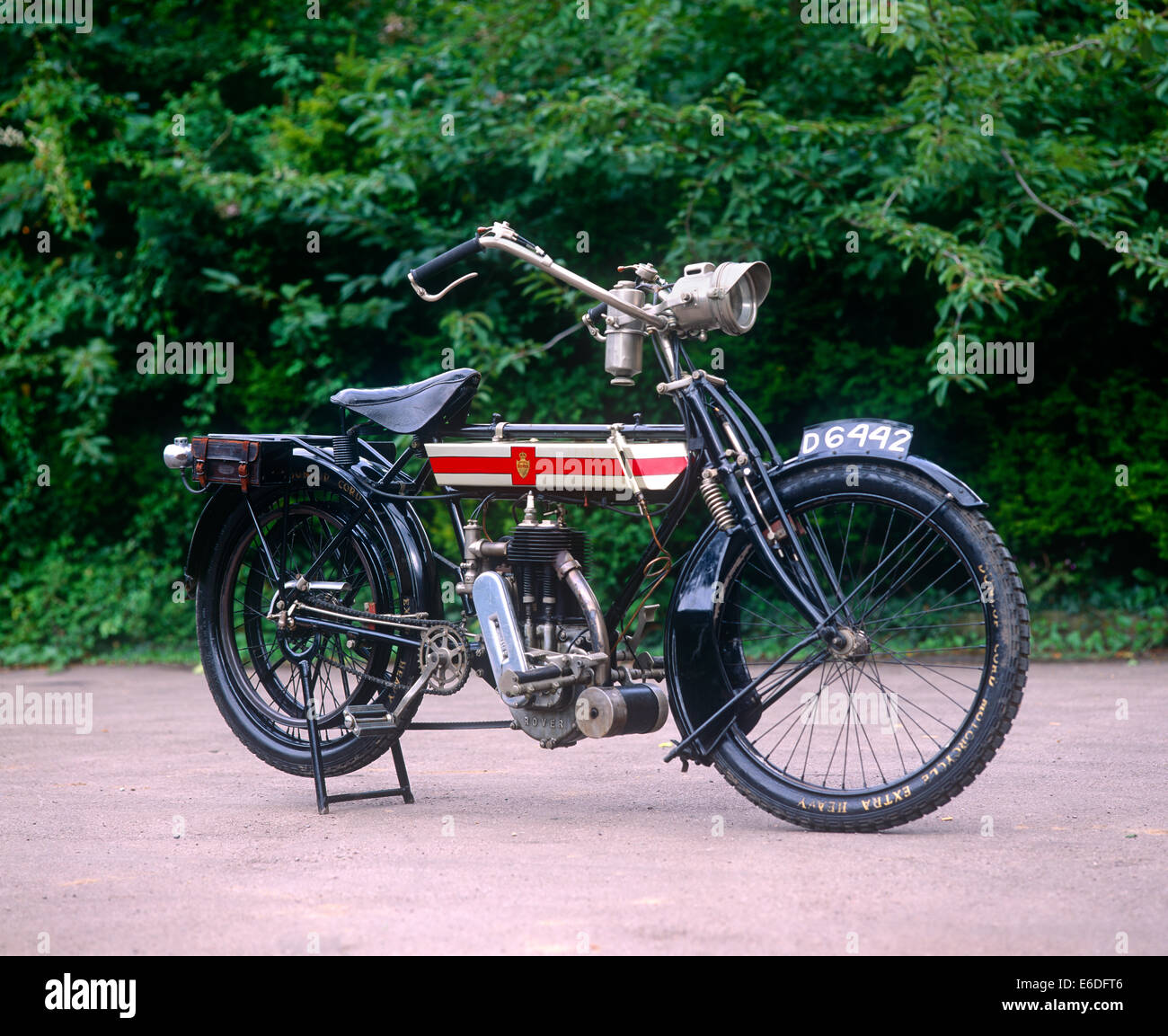 Rover Imperial motorbike - Stock Image