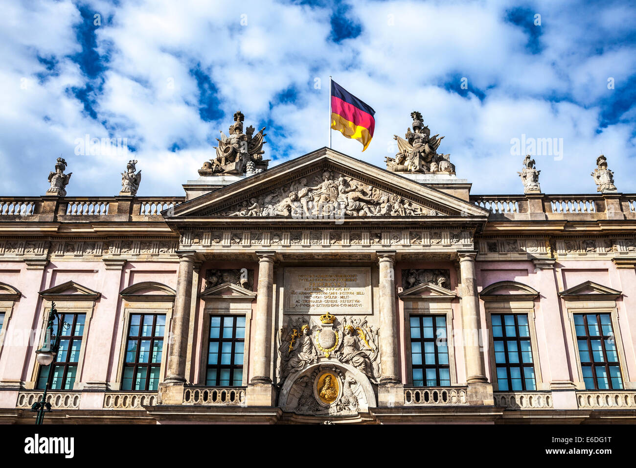 Deutsches Historisches Museum or German Historical Museum in Berlin. - Stock Image