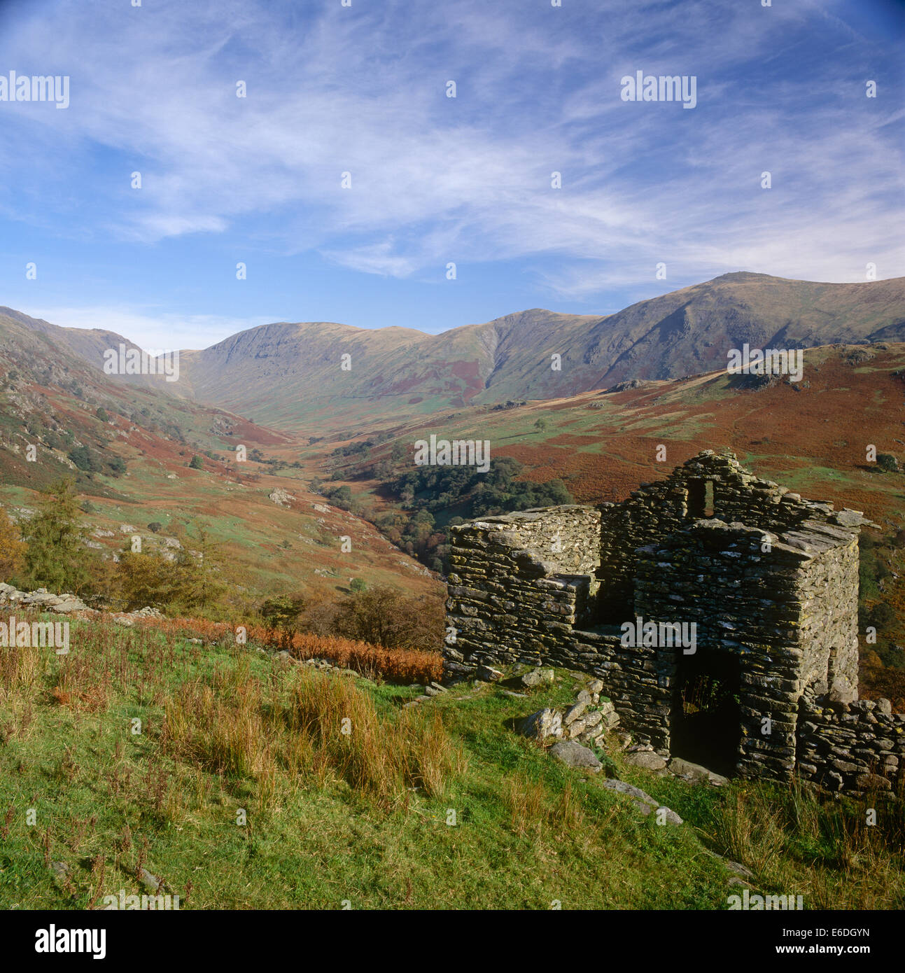 Old Barn troutbeck cumbria - Stock Image