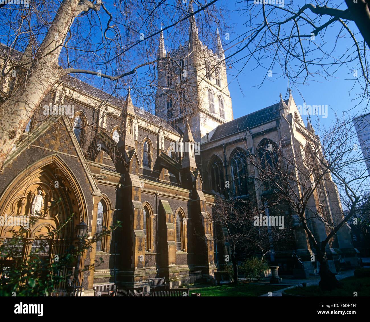 Southwark cathedral london uk - Stock Image