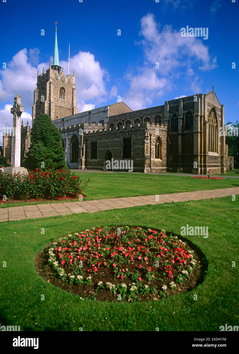 Cathedral chelmsford essex uk - Stock Image
