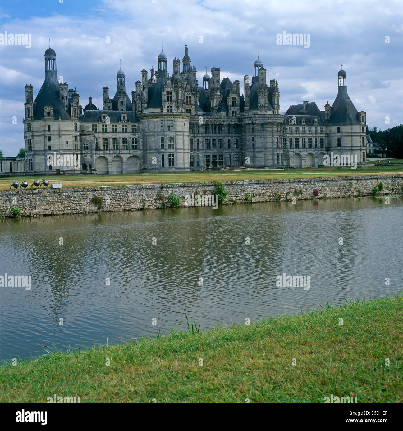 Chateau Chambord Loire Valley France - Stock Image