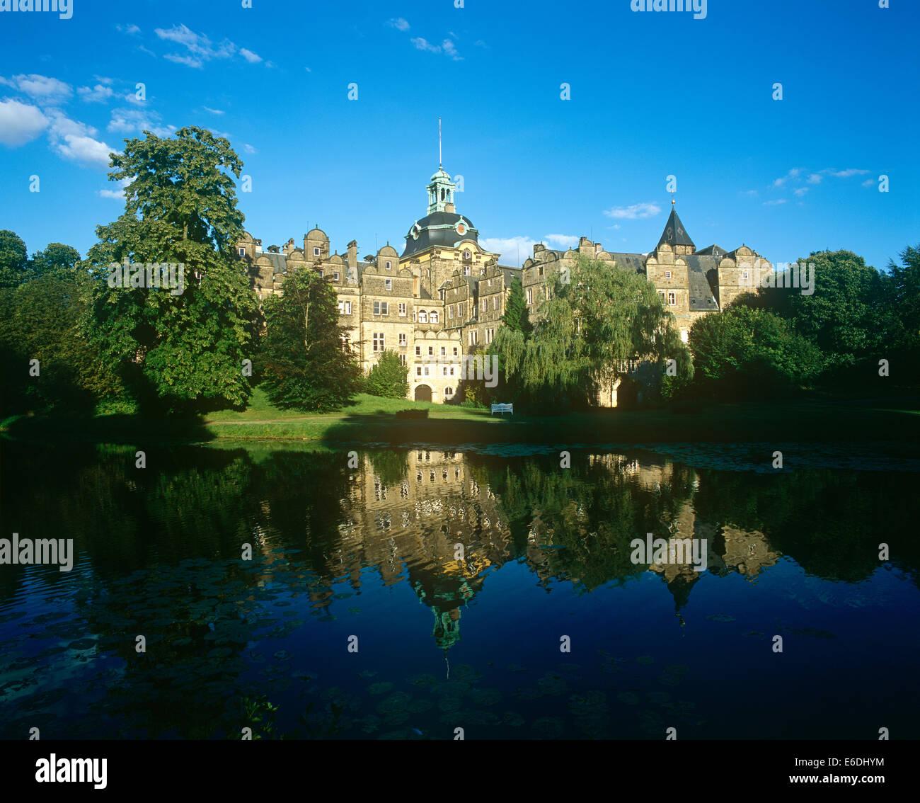 Weser Renaissance Residence Castle Lower Saxony Germany - Stock Image