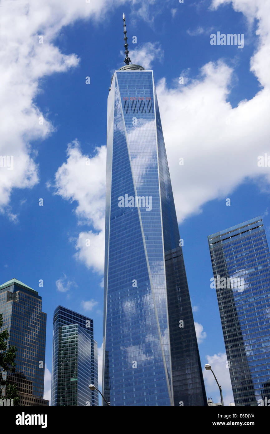 Freedom tower one world trade center new york ny - Architekt one world trade center ...