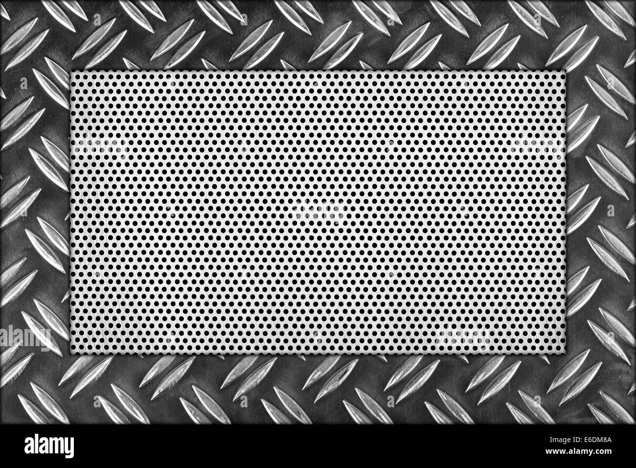 Stainless Steel Diamond Plate Background Stock Photos & Stainless ...
