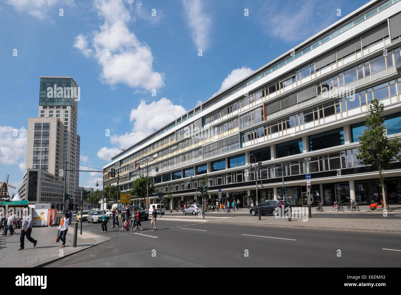 berlin shopping mall stock photos berlin shopping mall stock images alamy. Black Bedroom Furniture Sets. Home Design Ideas