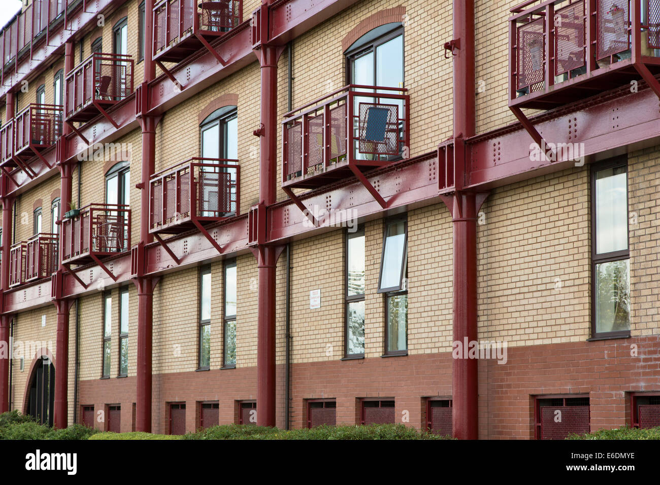 Dockside development, Preston - Stock Image