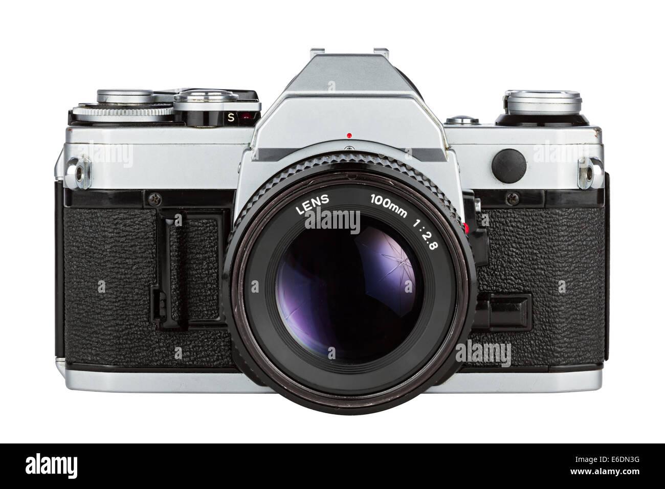retro photo camera - Stock Image