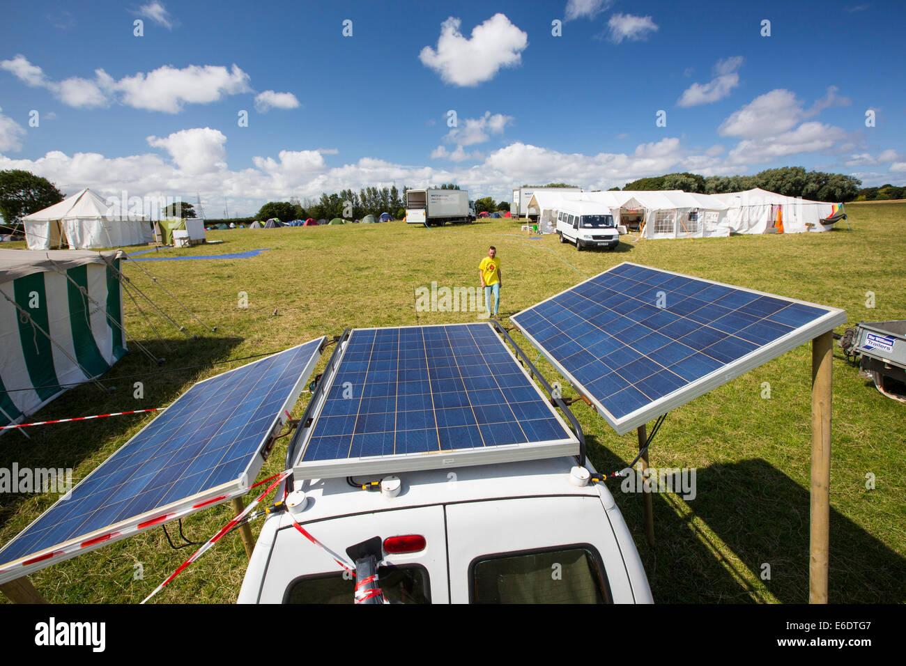 Solar Panel Tent Stock Photos Amp Solar Panel Tent Stock