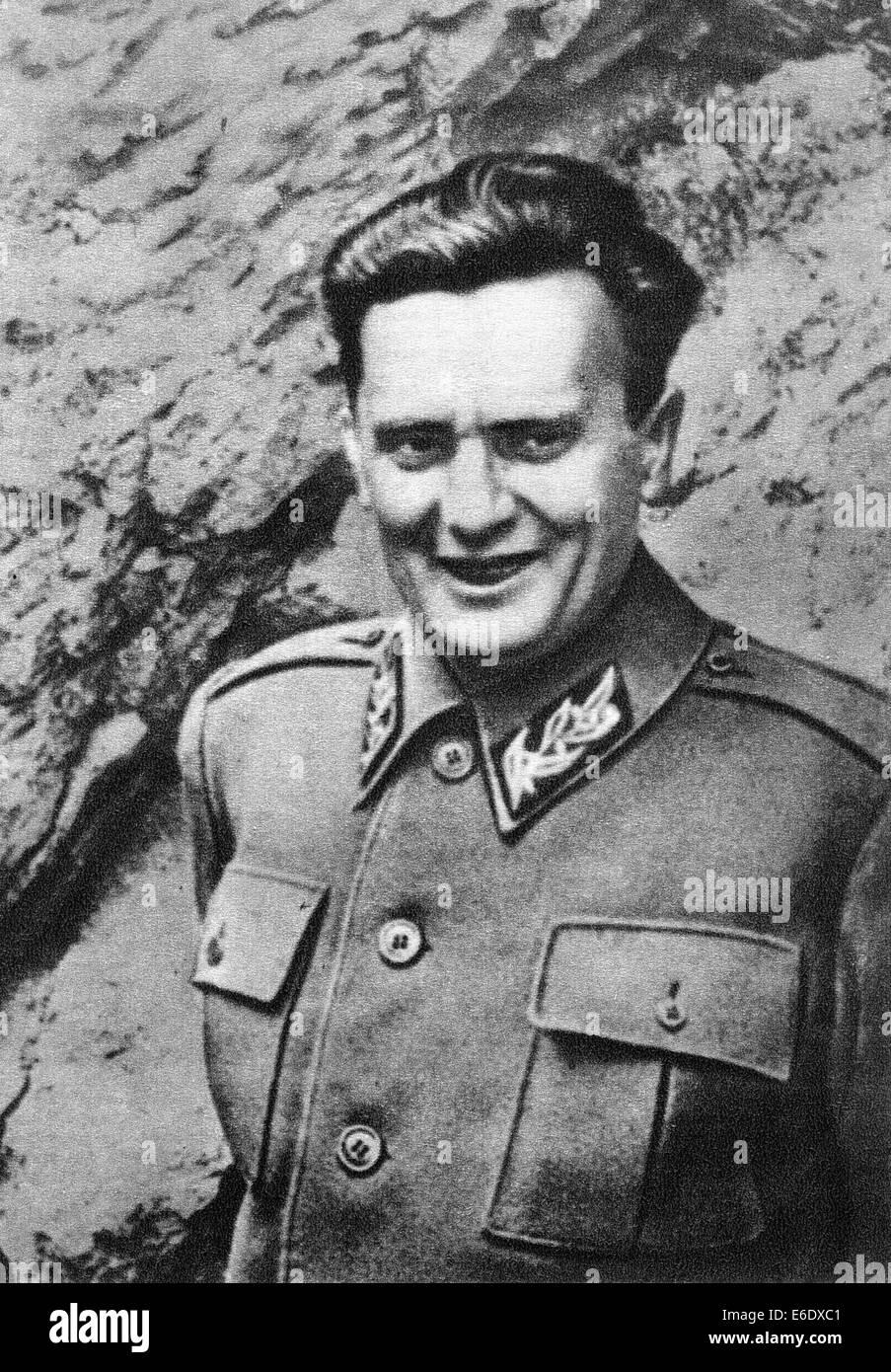 Josip Broz Tito (1892-1980), Revolutionary, Statesman and 1st President of Yugoslavia, Portrait, circa 1941 - Stock Image