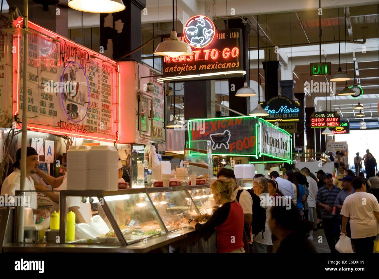 Food Court Downtown La
