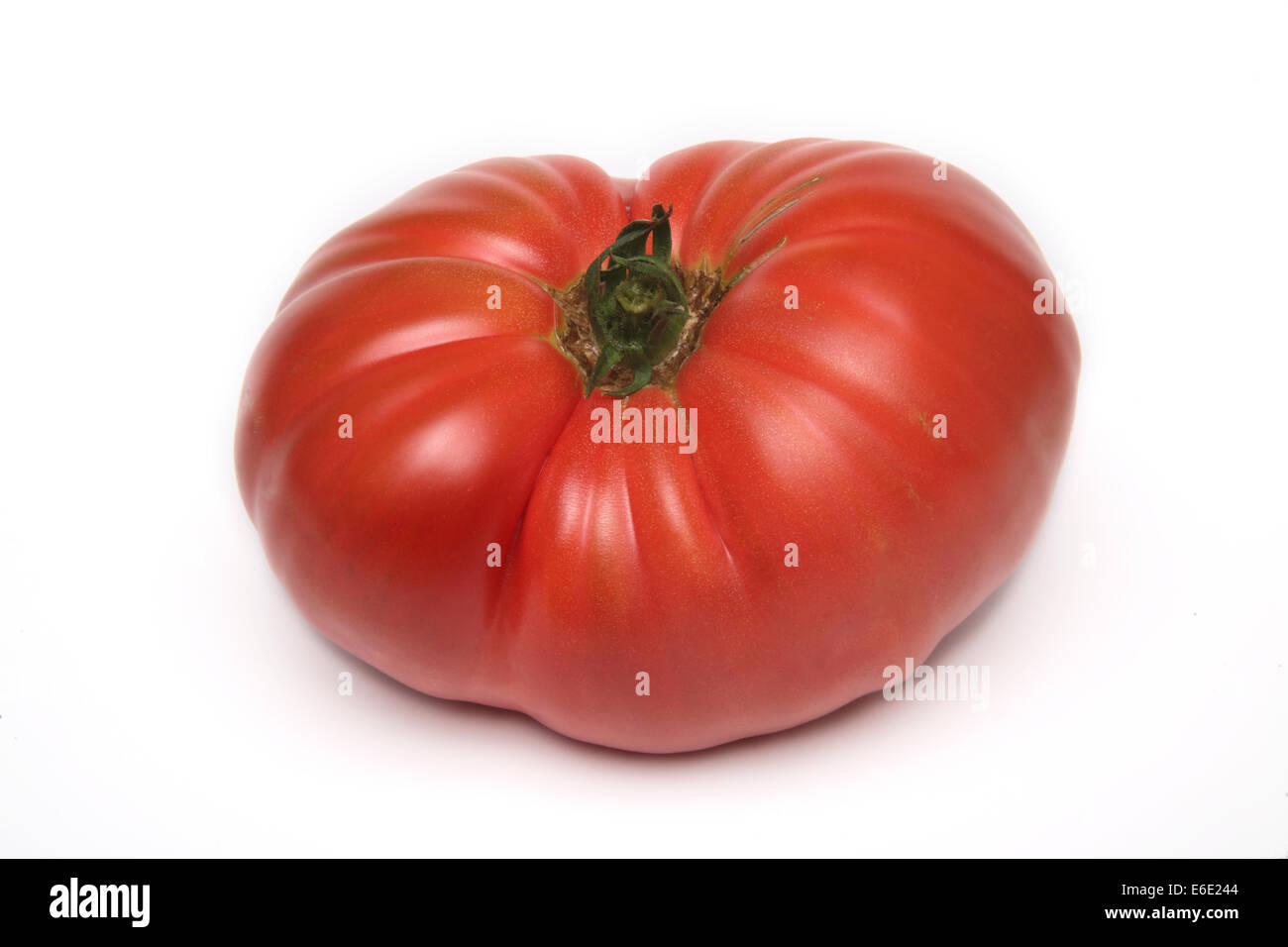 Brandywine Heirloom Tomato - Stock Image