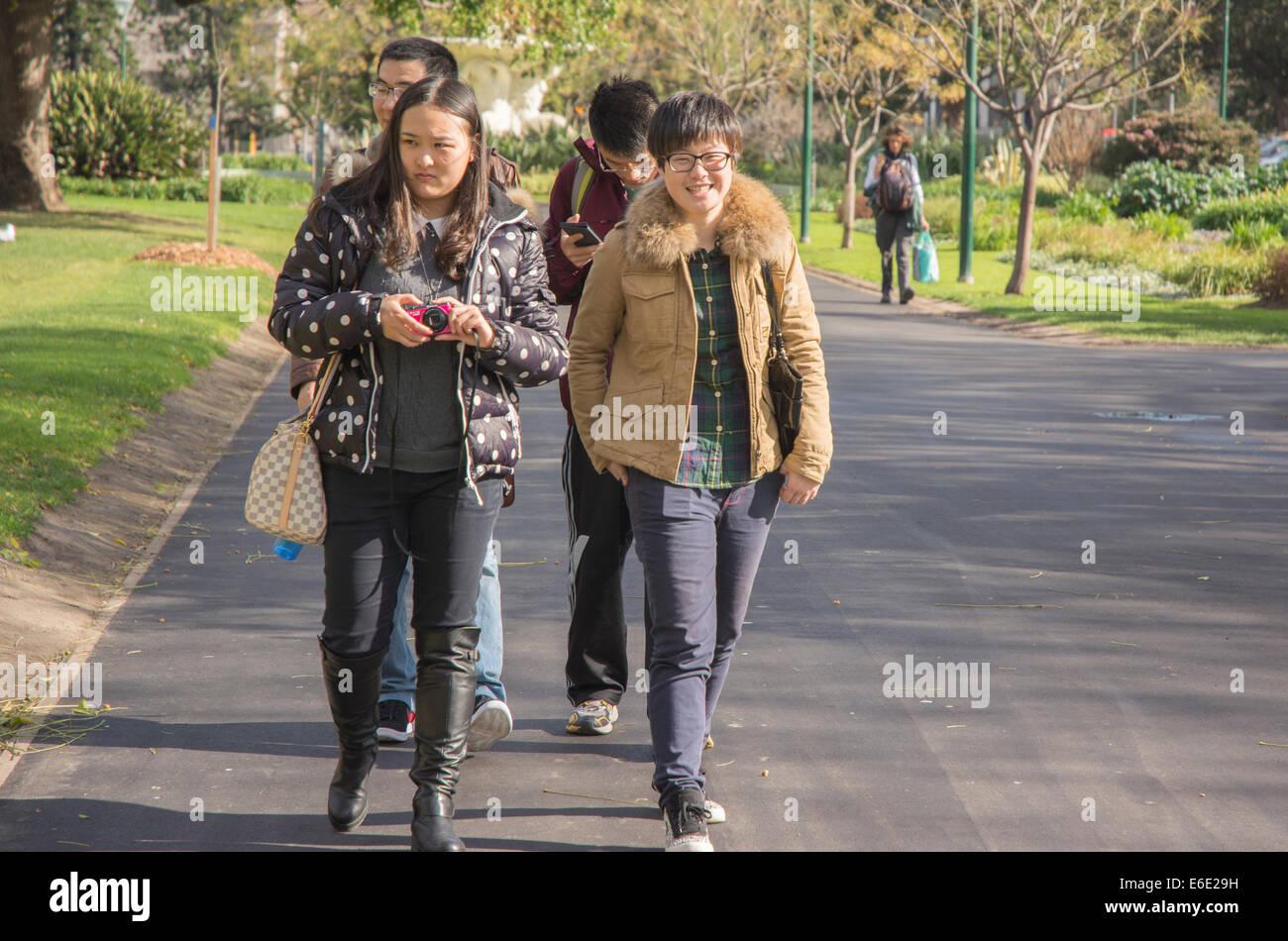 Pedestrians - Stock Image