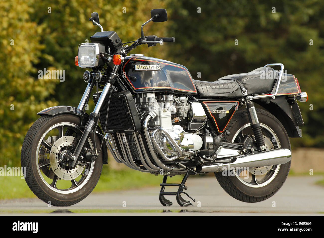 Motorcycle, Kawasaki Z1300 Stock Photo: 72840672 - Alamy