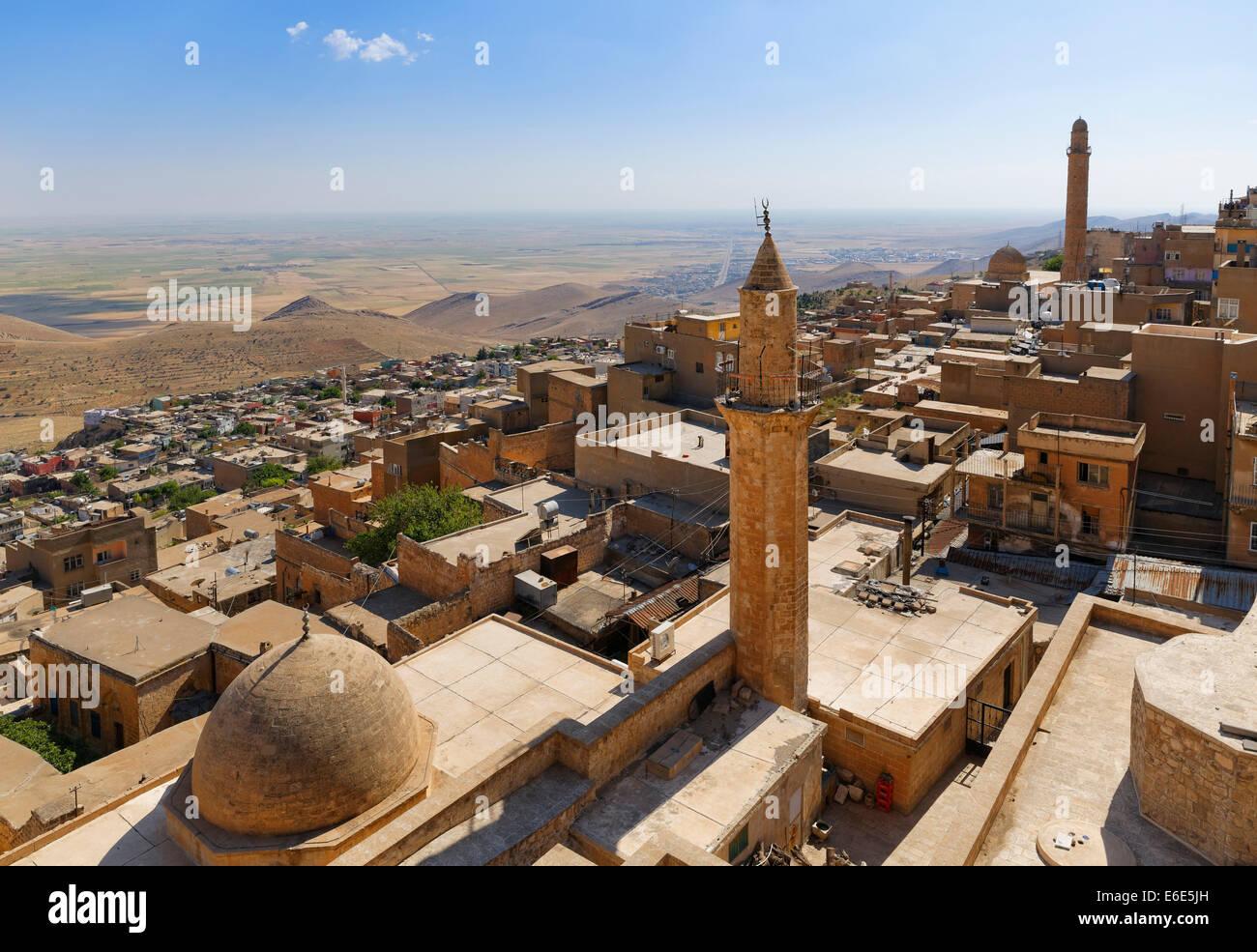 Historic centre of Mardin, Southeastern Anatolia Region, Anatolia, Turkey - Stock Image