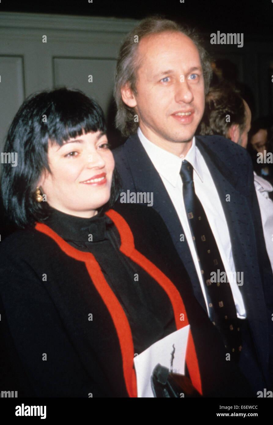 Mark Knopfler Of Dire Straits With Wife Lourdes Salamone