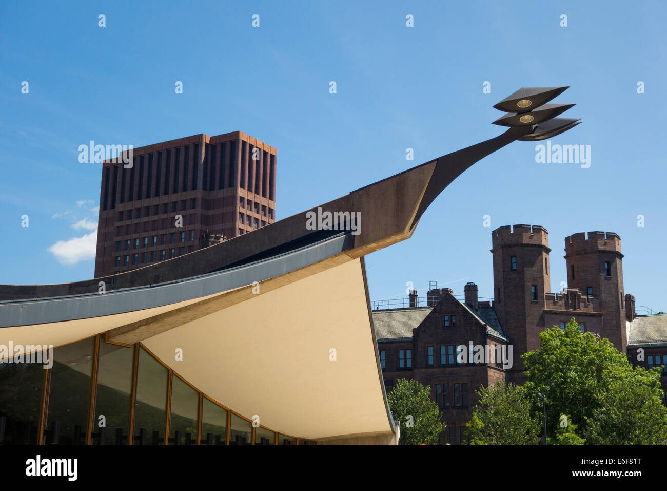David S Ingalls Rink Yale New Haven CT - Stock Image
