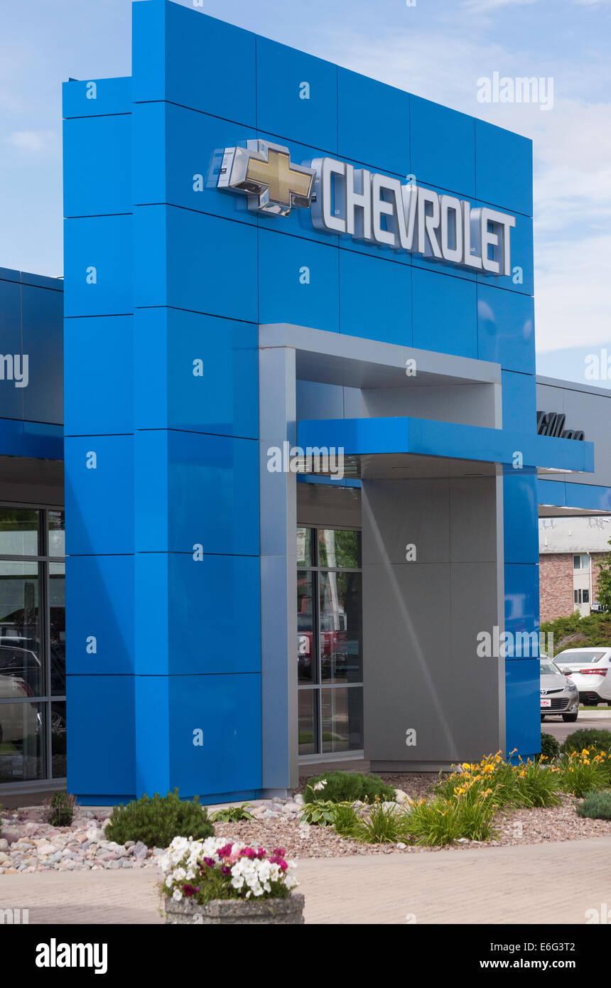 Car Dealership, USA - Stock Image