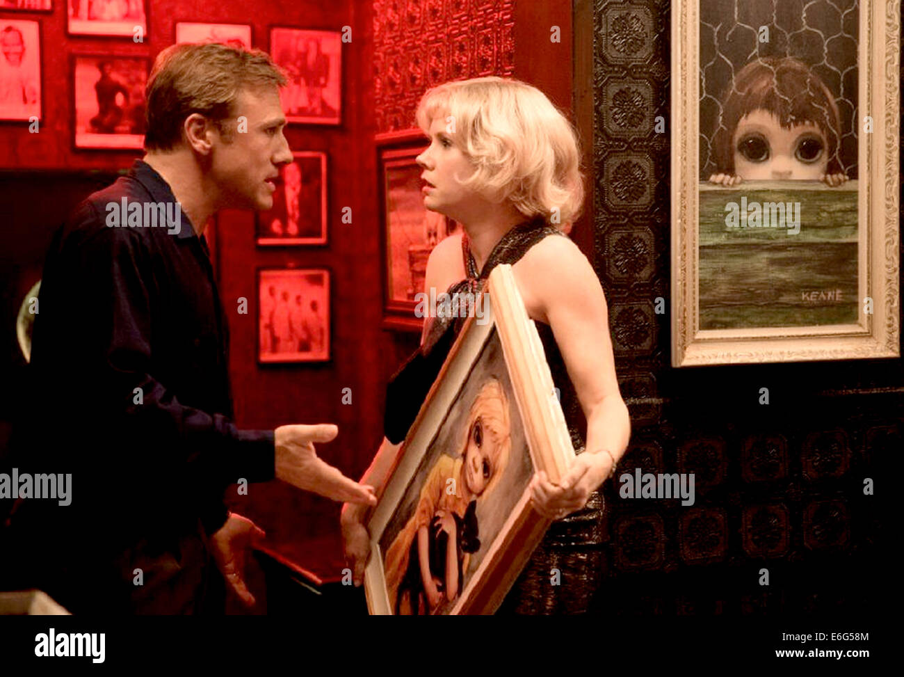 BIG EYES 2014 Weinstein Company film with Amy Adams and Christoph Waltz - Stock Image