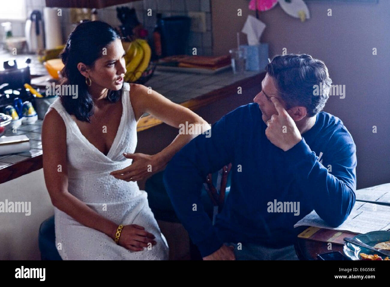 DELIVER US FROM EVIL 2014 Screen gems film with Olivia Munn and Eric Bana - Stock Image