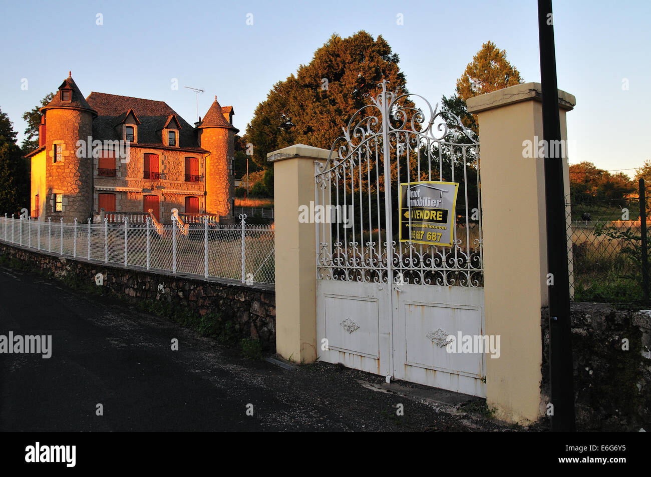 House for sale in French Village - Stock Image