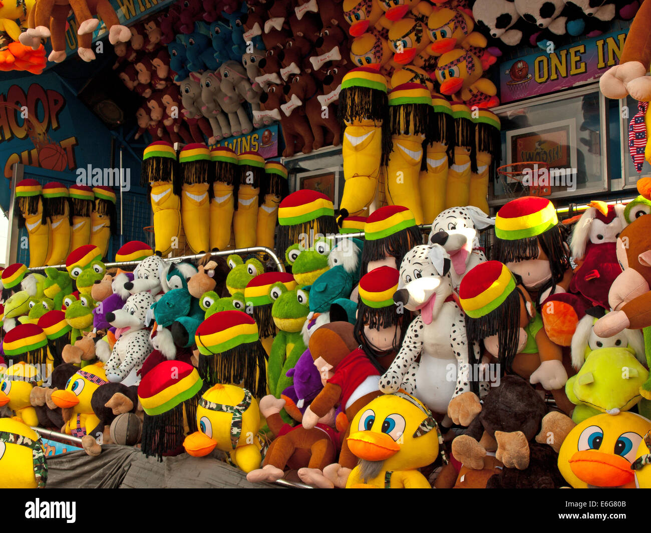 Carnival Prizes Stock Photo 72886923 Alamy