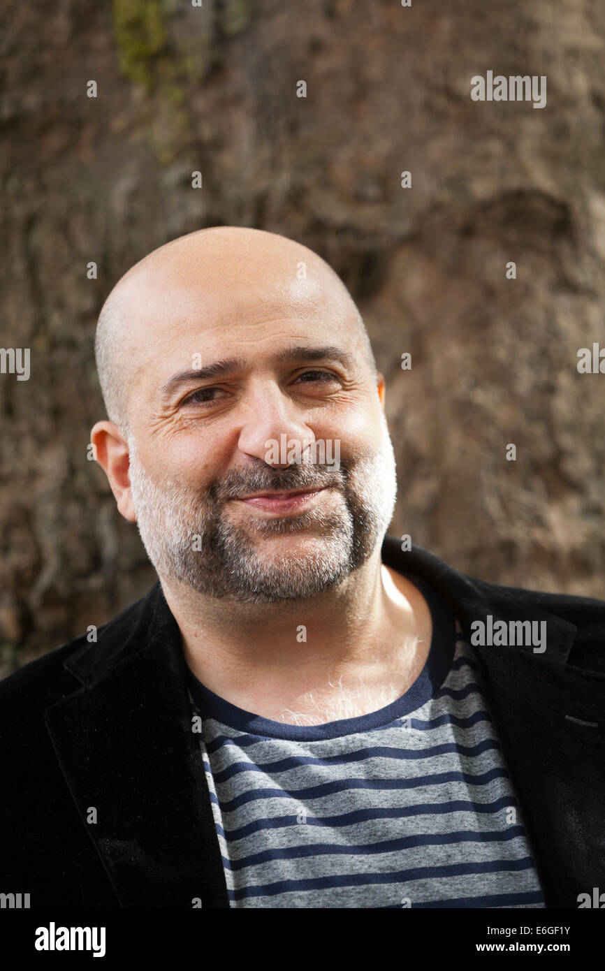 Edinburgh, Scotland, UK. 22nd August, 2014. Omid Djalili, the stand-up comedian, actor and writer, at the Edinburgh - Stock Image