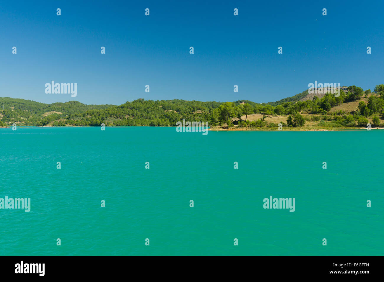 Picture of: Green Lake In The Taurus Mountains Oymapinar Antalya Province Stock Photo Alamy