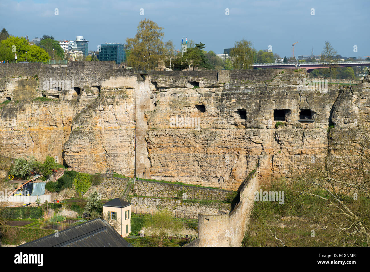 Luxembourg casemates - Grand Duchy of Luxembourg - Stock Image