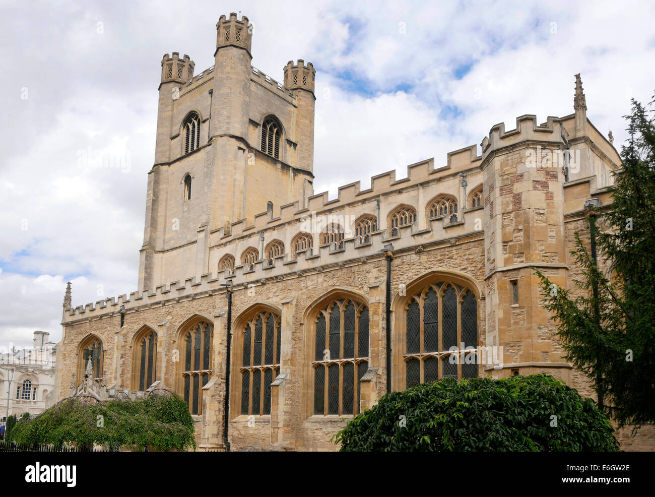 St Mary the Great Church Cambridge England - Stock Image