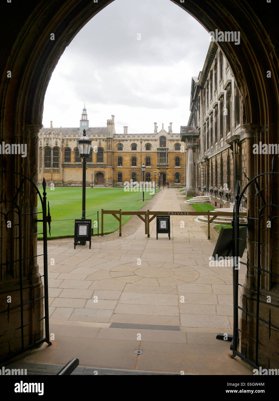 King's College Cambridge University Cambridge England - Stock Image
