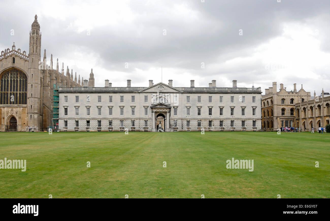 Senate House, the centre of Cambridge University, Cambridge England - Stock Image