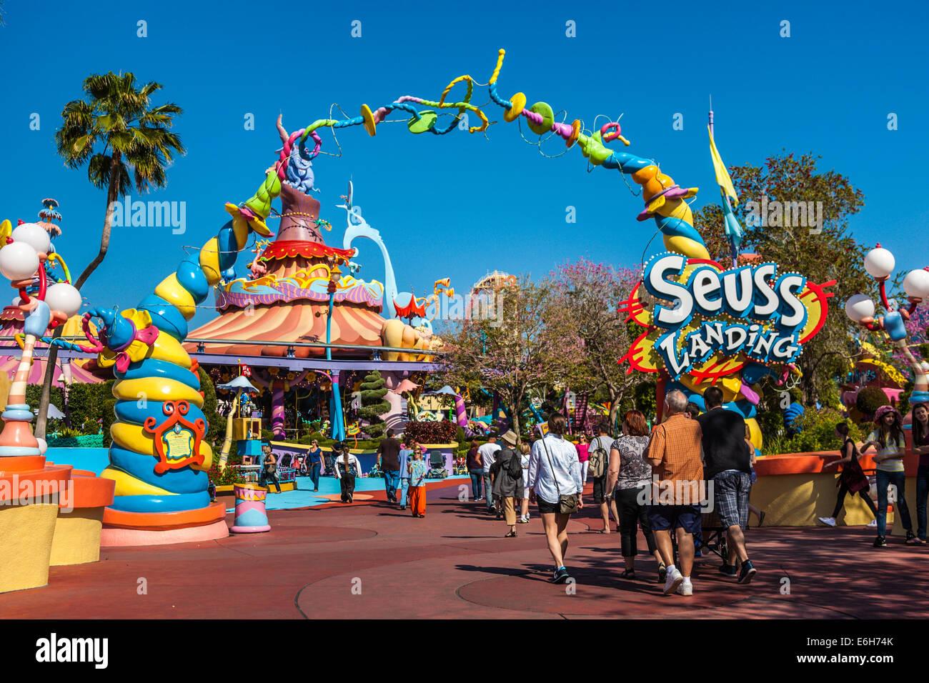 Universal Island Of Adventure Or Universal Studios Florida