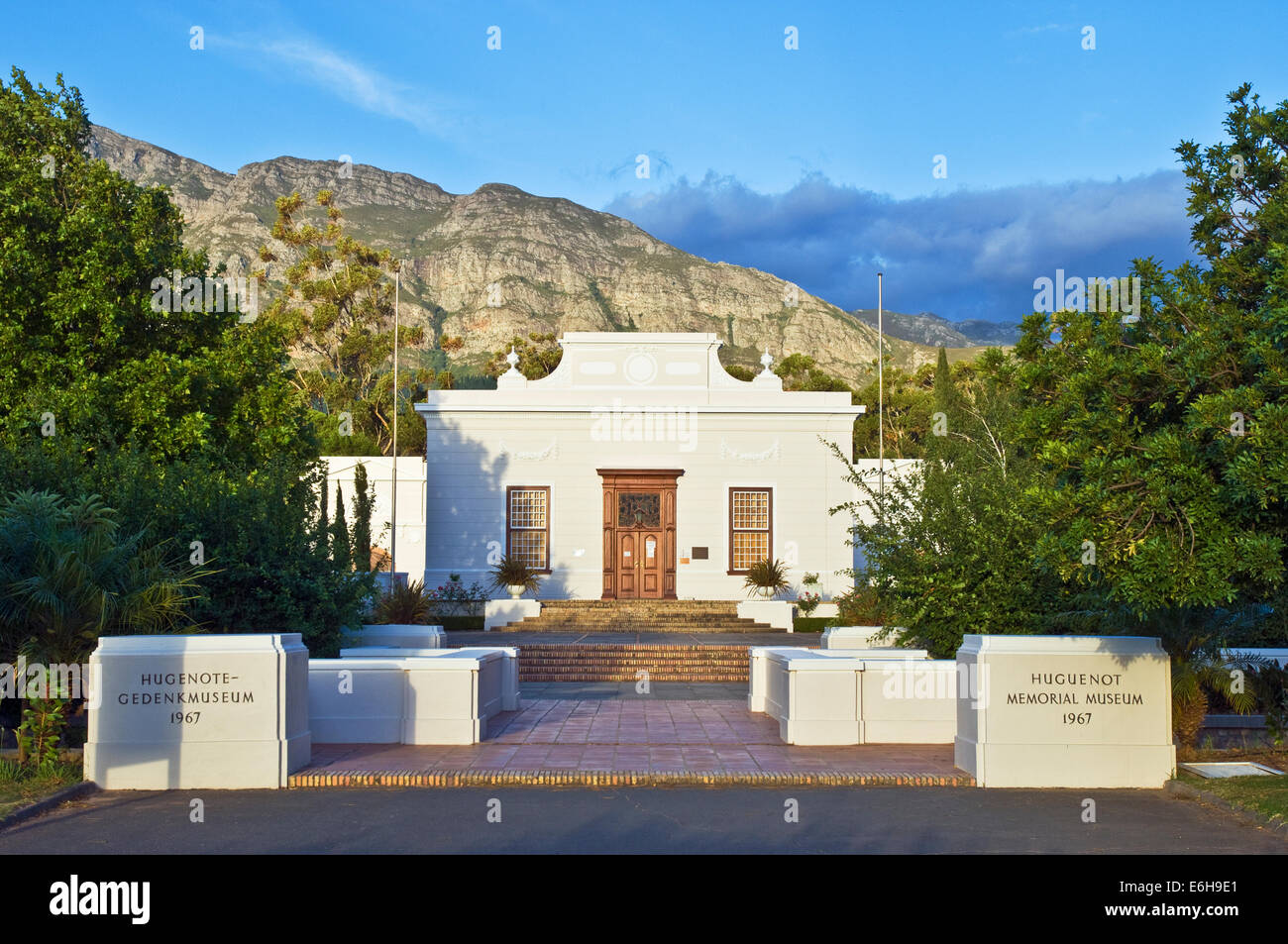 The Huguenot Memorial Museum in Franschhoek, South Africa - Stock Image
