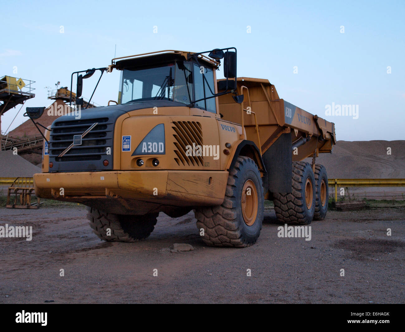 Hauler Stock Photos Images Alamy Volvo A30d Wiring Diagram Articulated Dump Truck Uk Image