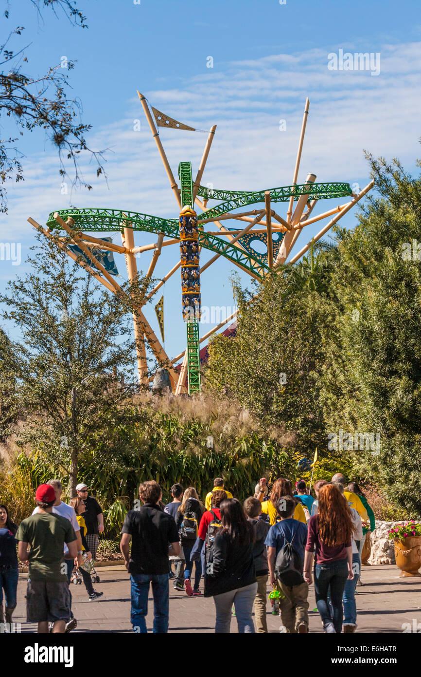 Busch Gardens Tampa Bay Stock Photos & Busch Gardens Tampa Bay Stock ...
