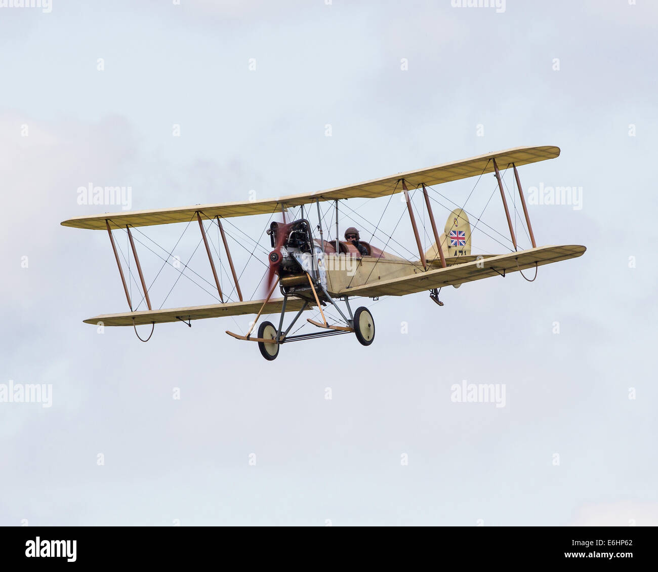 Dunsfold, UK. 23rd Aug, 2014. Dunsfold aerodrome in Surrey holds an annual motor and airshow over the August Bank - Stock Image