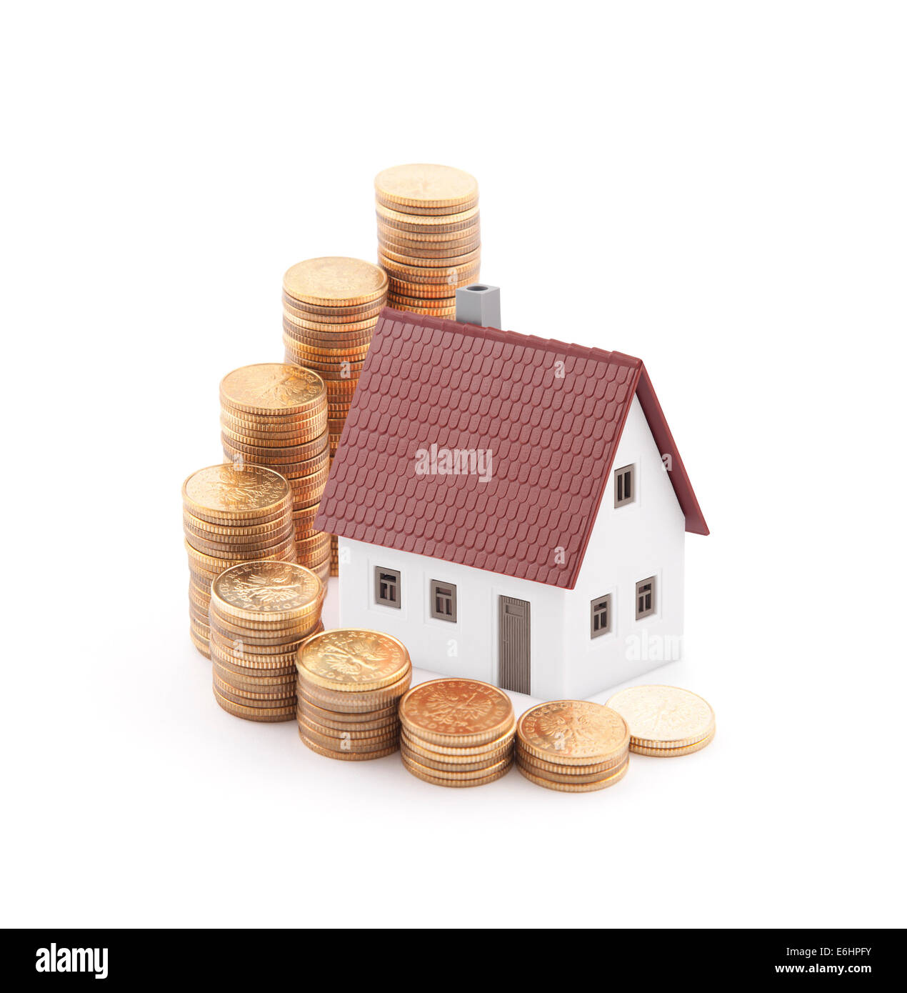 Invest in real estate concept - Stock Image