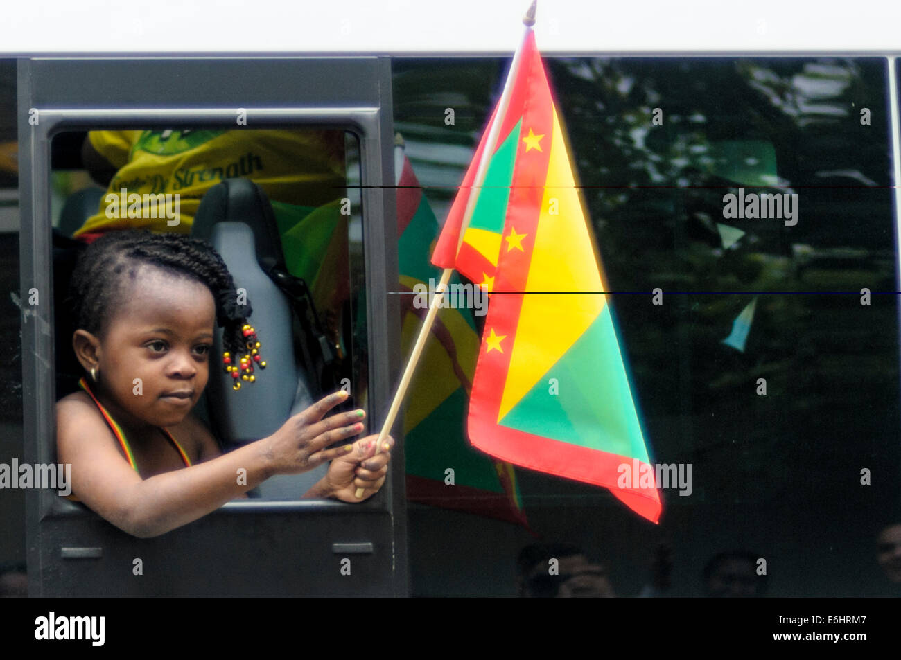 Notting Hill Carnival 2014, Children's day on Sunday - Stock Image