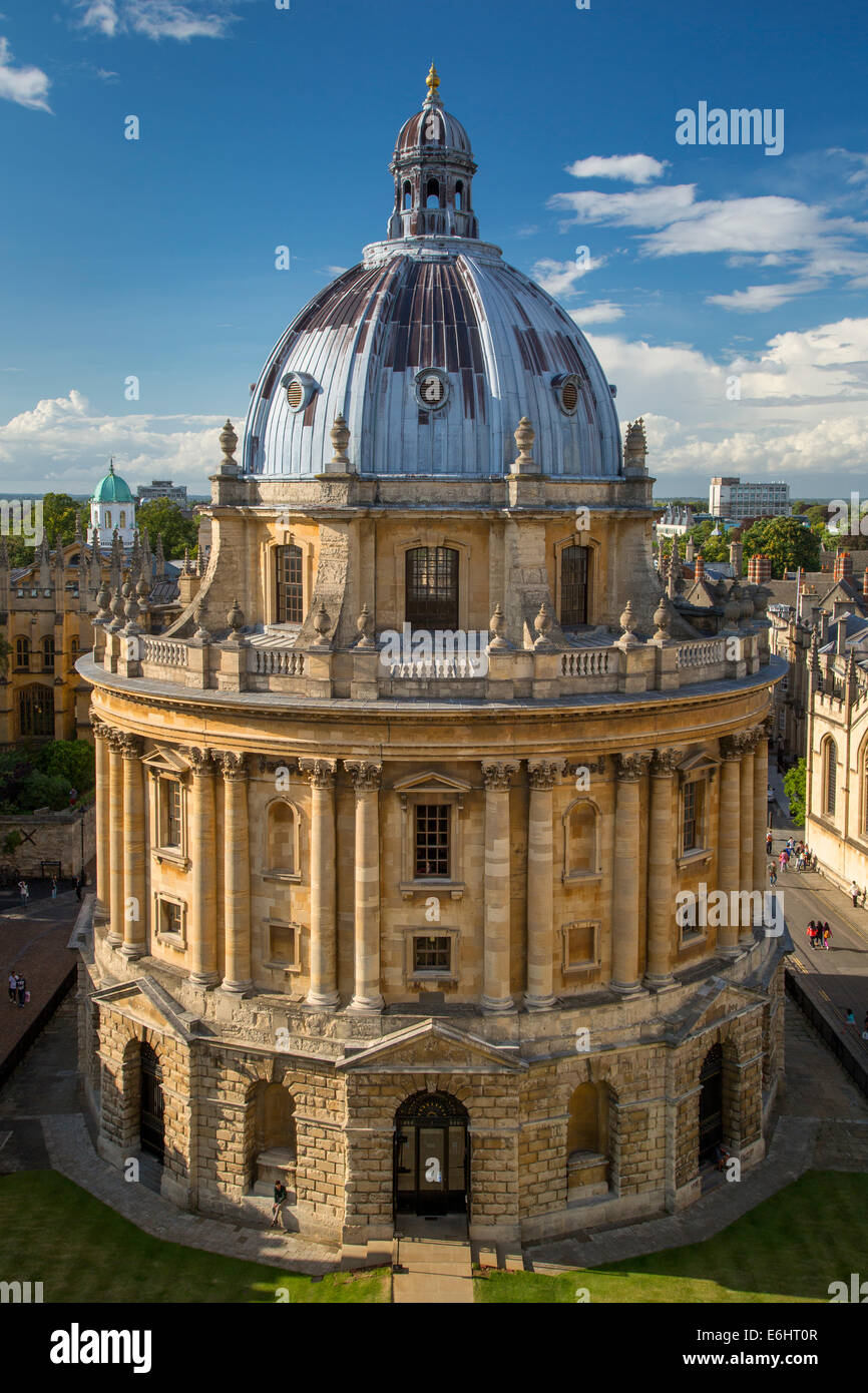 Radcliffe Camera - Science Library, Oxford, Oxfordshire, England - Stock Image