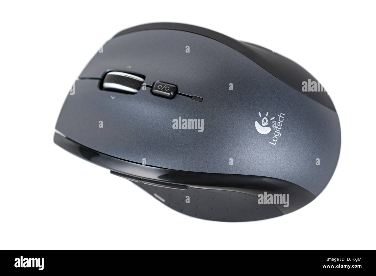 Wireless Mouse, Laser Optical Mouse, Logitech - Stock Image