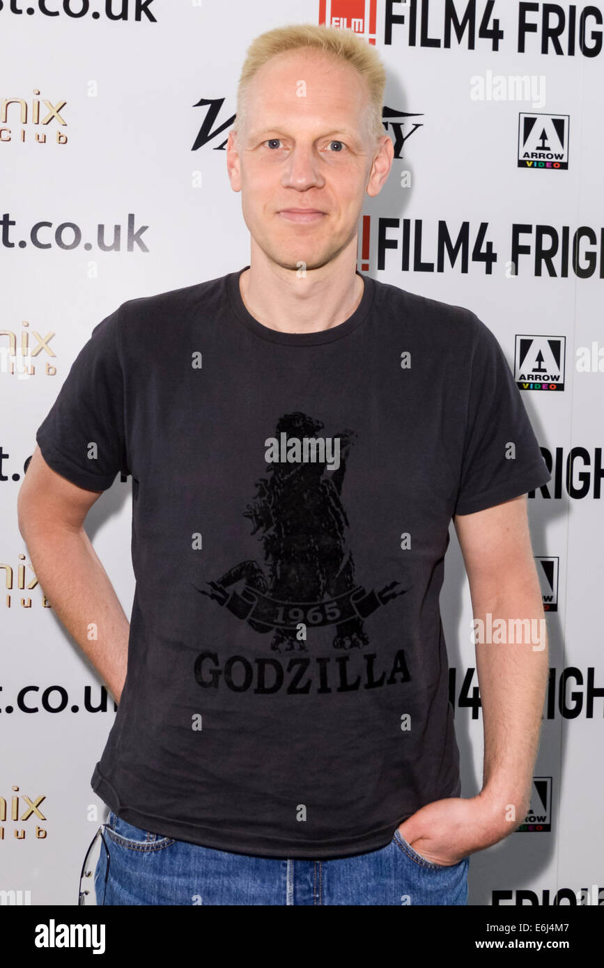 The 15th Film4 Frightfest on 24/08/2014 at The VUE West End, London. A preview screening of Nekromantik, the director - Stock Image